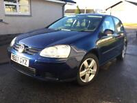 2007 Vw golf 1.9 ... LOW miles76k... very clean inside& out FULL SERVICE.. only 2 owners