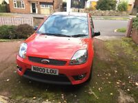 Ford Fiesta Zetec S 30th Anniversary 1.6 Petrol, LOW MILEAGE ONLY 2 OWNERS