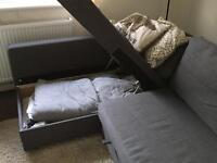 Ikea Friheten Corner Sofa & Bed