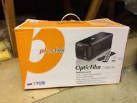 Plustek OpticFilm 7500i SE. Scans 35mm negatives & slides 7200 x 7200dpi optical resolution