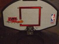 Basketball net and wall fitting mount