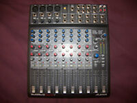 Alesis MultiMix 12 FireWire , 12-Channel Analog Compact Mixer and FireWire computer audio interface.