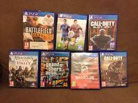 Swap PS4 games
