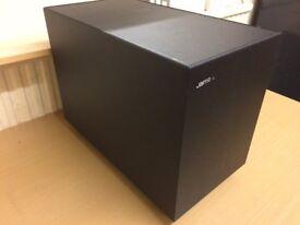 Jamo Sub 200 Home Cinema Active Subwoofer, High Quality Deep Bass Reflex Sound, Fully Working.