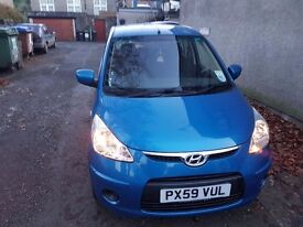 Hyundai i10 ES 1.1 5dr 59 Plate Low Mileage REDUCED