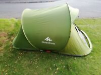 POP UP TENT Quechua 2 Seconds + 2 Person - Green