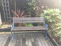 Vintage Iron Garden Bench