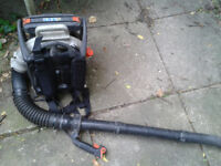Echo PB-6000 Backpack Petrol Leaf Blower, Professional Quality, 58cc, good starter, new straps today