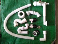 Assorted Plastic Plumbing Fittings