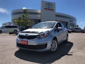 2016 Kia Rio LX - One Owner / No Accidents / Certified
