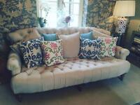 Gorgeous large chesterfield sofa