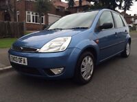 2003 FORD FIESTA 1.6 GHIA, 5DR, ONLY 86,400 MILES, FSH, HPI CLEAR