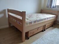 3 ft bunk beds with under bed storage
