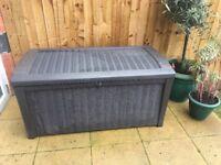 Garden storage box / seat