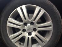 "Vauxhall 16"" alloys"