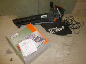 Electric Leaf Blower and Vacuum
