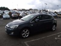 2010 10 VAUXHALL ASTRA 1.6 SRI 5D 113 BHP **** GUARANTEED FINANCE **** PART EX WELCOME ****