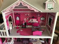 Dolls House and Barbies