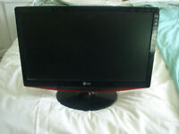 """LG Tv and Pioneer DVD recorder. TV is 21"""" diagonal sceen and has not been used very much."""