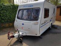 Bailey Ranger GT60 460/2 2009 light weight end bathroom 2 berth caravan