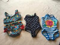 M&S- Primark Baby Girl Swim costume 3-6 Months New And Used £5