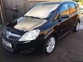 Vauxhall Zafira Elite 2008 1.9 CDTI 7 Seater New MOT & fully serviced