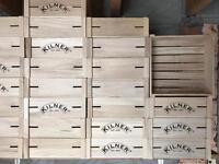 Kilner wooden crates
