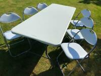 Table hire 6Ft heavy duty foldable. Hire only