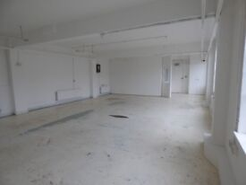 SPACIOUS AND BRIGHT WORKSHOP/SPACE SUITABLE FOR CREATIVE ENTREPRENEURS OR ESTABLISHED BUSINESS