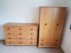 Childresn chest of drawers and wardrobes