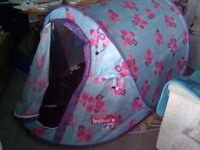 Pop up Festival tent.