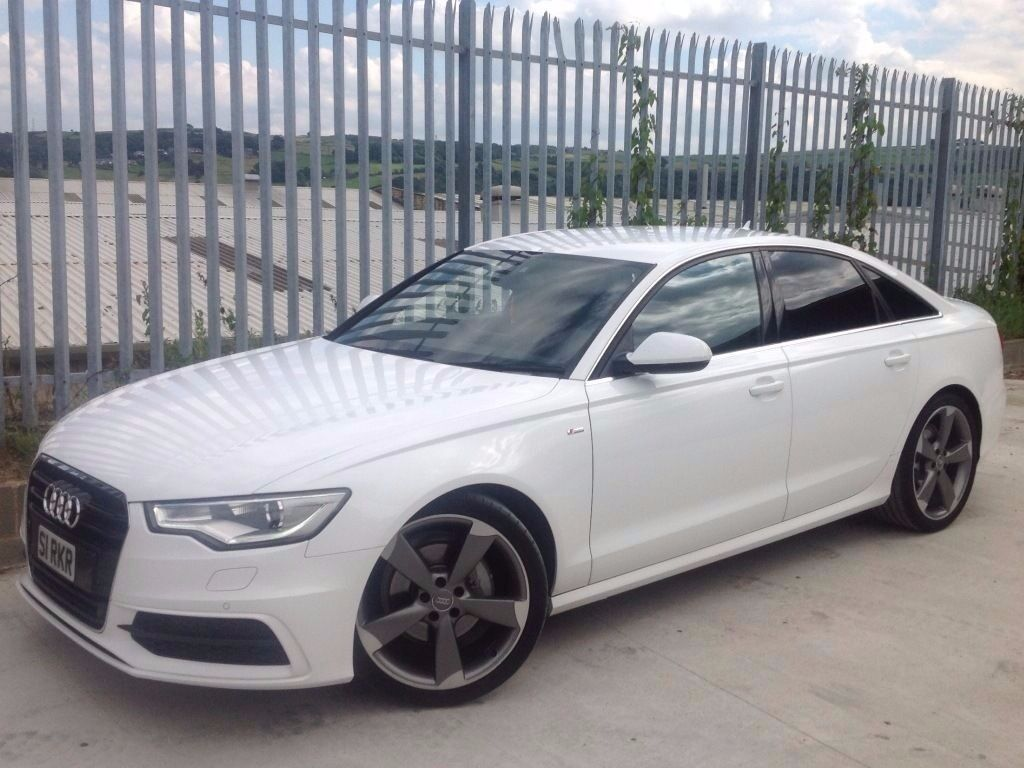 2012 audi a6 2 0 tdi black edition auto white low mileage in keighley west yorkshire. Black Bedroom Furniture Sets. Home Design Ideas