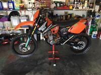 KTM 450 EXC 2003 to 2004 model excellent condition for it year