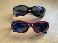 Children's sun glasses - one pair Spider-Man