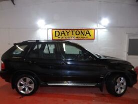 BMW X5 Auto 3.0i Black Full Leather Panoramic roof Full years mot