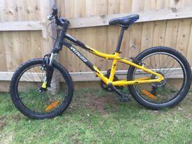 Child's Mountain Bike: Specialized Hotrock (16'' Wheel 11'' Frame)