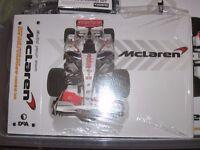 The De Agostini 2008 World Championship Winning Mclaren f1 car Kit