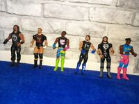 WWE Wrestling Tough Talkers Figures & Ring