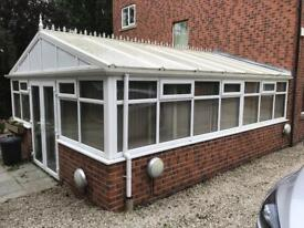 Large conservatory for sale.