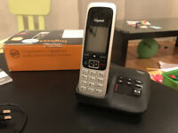 Gigaset C430A Nuisance Call Blocking Cordless Phone with Answering Machine USED