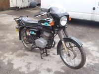 CLASSIC 1987 JAWA CZ 125 D/L BARN FIND VINTAGE TWO STROKE 125 CC LOW MILEAGE DELIVERY AVAILABLE