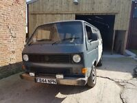 VW T25 TWIN SLIDER EASY PROJECT VERY SOLID
