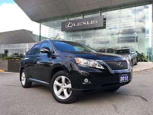 2012 Lexus RX 350 1 Owner Lthr AWD Btooth Sroof