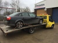 CHEAP CAR BREAKDOWN RECOVERY TOWING SERVICE AUCTION DELIVERY ROADSIDE RECOVERY M2 M3 M4