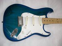 Fender Deluxe Strat Plus electric guitar - USA - '93 - Blueburst - Custom Shop- Vintage