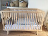 OEUF NYC SPARROW COT BIRCH WOOD