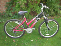 LIKE NEW RALEIGH RAPTURE MOUNTAIN BIKE ONE OF MANY QUALITY BICYCLES FOR SALE