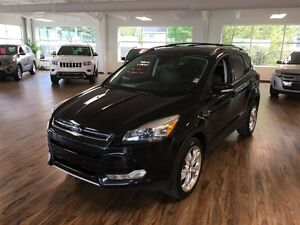 2013 Ford Escape Titanium 4WD (s-roof/nav/leather)