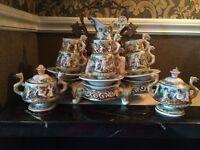 Capodimonte tea/coffee set