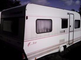 Dethleffs Rando 4 Berth Caravan